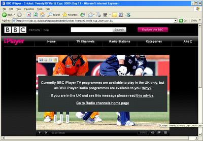 BBC Iplayer proxy