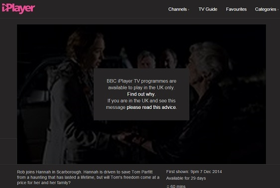 BBC iPlayer Canada
