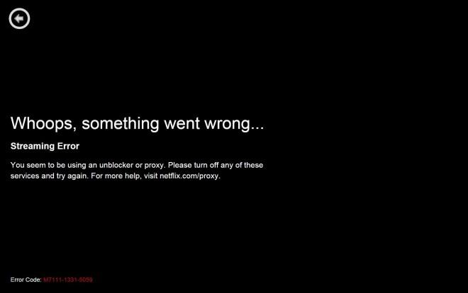 VPN Netflix Block